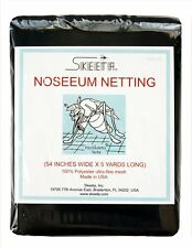 "Mosquito no-see-um netting/net 54"" wide x 5 yards long, color slate, by Skeeta"