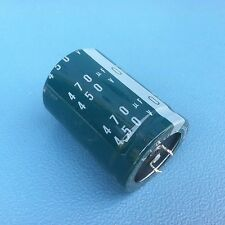 Nichicon  470uF 450v  35x50mm electrolytic Capacitor 105C , 310