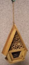 Garden Insect House Rustic NEW Rough Hewn Wood #1