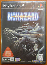 Biohazard Outbreak 1 (Resident Evil) PlayStation 2 PS2 PStwo NTSC-J Japan, NEW!!