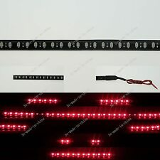 Red 1FT 12' 30CM 32 Led Knight Rider Strobe Scanner Flexible Strip Light M008