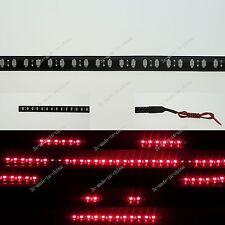 Red 1FT 12' 30CM 32 Led Knight Rider Strobe Scanner Flexible Strip Light M008
