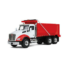 1:50 First Gear *WHITE & RED* Kenworth T880 Dump Truck *NIB!*