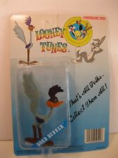 LOONEY TUNES ROAD RUNNER ACTION FIGURE 1988 LUCKY BELL WARNER MINT SEALED CARD