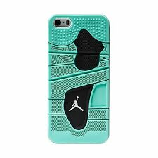 "Jordan Retro 4 ""Green Glow"" Apple iPhone 5 / 5S Case White"