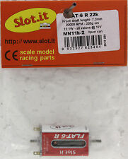 SLOT IT SIMN11H-2 FLAT 6 S 22,000 RPM HIGH TORQUE MOTOR NEW 1/32 SLOT CAR PART