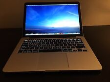 2015 Macbook Pro 13 Retina i7 3.1GHz 16GB 512GB applecare warranty mid 2018