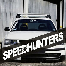 Reflect SPEEDHUNTERS Front Windshield Side Decal Vinyl Car Stickers Window Deco