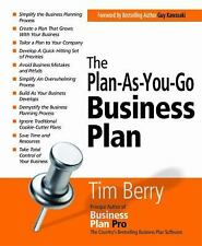 The Plan-as-You-Go Business Plan by Tim Berry (2008, Paperback)