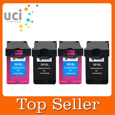 4 Compatible Ink Cartridge For HP 301XL Deskjet 3050A 3055A All-in-One