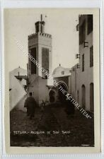 (Ga2844-100) Real Photo of TETOUAN, Mezquita de Sidi Saidi, Morocco c1930 VG