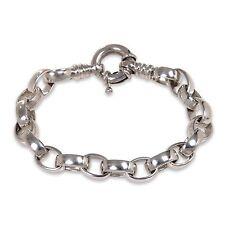 Men's Silver Bracelet Sterling 925 Handcrafted 'Connection' NOVICA Bali