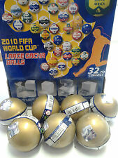 7 x Fifa 2010 World Cup Gacha Balls New & Sealed - Random Selection Surprise