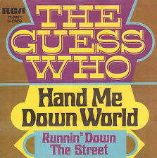 "GUESS WHO ‎– Hand Me Down World (1970 VINYL SINGLE 7"" GERMAN PS)"