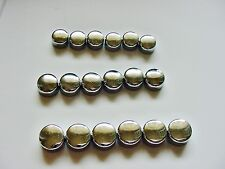 Plymouth NEW Chrome Motor Engine Bolts Caps Covers Dress-up Kit set 18 NOS Laser