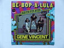 GENE VINCENT Be bop a lula Dance for ever N°12      2C010 81170
