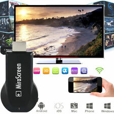 1080P Mirascreen WiFi Display Receiver AV TV Dongle Miracast For Andriod iOS IT3