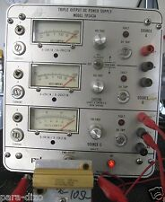 Lab Power Supply 3 Outputs  2x(0-25V @ 2.5A) & 0-15V @ 2.5A Works Great! US Made