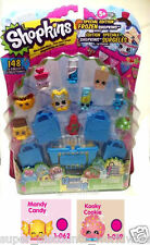 NEW Shopkins 12 Pack Season 1 Frozen Popsi Cool Pink Kooky Cookie Mandy Candy