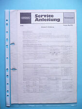 Service Manual for Grundig Prima Boy 700 ,ORIGINAL