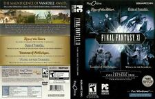 Final Fantasy XI Online Vana'diel Collection 2008 PC WIN 2000 XP VISTA COMPLETE