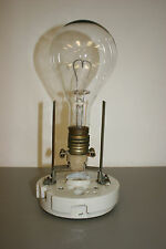 Vintage GE 6000L 20amp Light Bulb with Heavy Duty Porcelain and Brass Socket