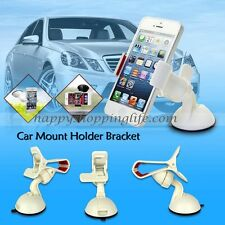 Car Windshield Mount Bracket Holder Cradle Stand For Samsung Galaxy iPhone 5 5S