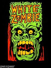 WHITE ZOMBIE cd lgo MONSTER YELL Official SHIRT XL New rob zombie