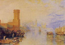 AK: Joseph Mallord William Turner - Cologne on the Rhine