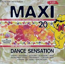 MAXI DANCE SENSATION 20 / 2 CD-SET (CLUB EDITION)