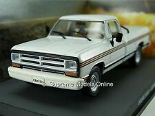 Dodge Ram Pick Up Camion 1980's american Blanc 1 / 43e échelle version bxd r0154x {:}