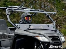 Super ATV Full Flip Tilting Front Windshield Arctic Cat Wildcat Trail Sport 700