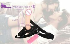 Strap On_Dildo_7inch Natuarl Feel Realistic Flesh