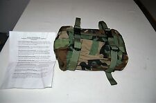 USGI US MILITARY WOODLAND CAMO MOLLE II COMPATIBLE  WAIST PACK BAG NO BELT ALICE