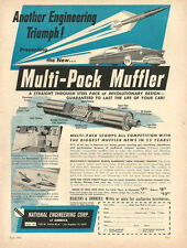 1953 Classic Car Parts AD, Multi-Pack Muffler National Engineering Corp.  072214