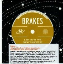 (BY217) Brakes, Why Tell The Truth? - 2009 DJ CD