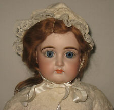 """Stunning Antique 24"""" J.D. Kestner Closed Mouth Bisque Socket Head Doll   #MZ48"""