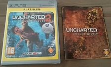 Uncharted 2 Among Thieves Platinum - Jeux PS3 complet - CD IMPECCABLE