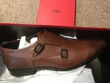 Hugo Boss Tan Monk / Double Monk mens shoes usually £230 size 10