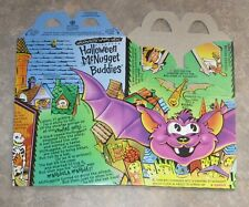 1992 McDonalds Happy Meal McNugget Halloween Box - Bat