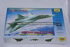 ZVEZDA 1/72 7275 Sukhoi PAK Su-50 T-50 Stealth Fighter  Free Shipping