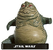 STAR WARS MINIATURES VR JABBA CRIME LORD 46/60 AE