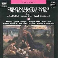 Great Narrative Poems of the Romantic Age by John Moffatt (CD, Sep-1996, 2  Disc