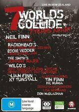 7 Worlds Collide (DVD, 2012, 2-Disc Set)-REGION 4-Brand new-Free postage