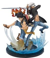 "Monkey D Luffy & Trafalgar Law 5th Anniversary Figure ""One Piece"" New Japanese"