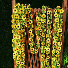 DIY Artificial Sunflower Garland Flower Vine for Home Wedding Floral Decor JA