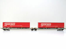 Taschenwagen Typ Sdggmrs der SBB,Ep.V,Gruber Logistics,RockyRail 90330,AC,H0,NEU