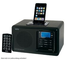 TOP iPod Dock Music Station Radio clock Alarm clock Radio alarm