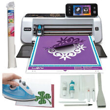 Brother ScanNCut 2 Scan n Cut Craft Scanner Machine Fabric Applique Bundle