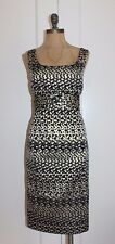 JONES NEW YORK BROCADE SHEATH DRESS SZ 6